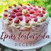 Epres tortacsoda recept | A tökéletes piskóta a legfinomabb eperkrémmel