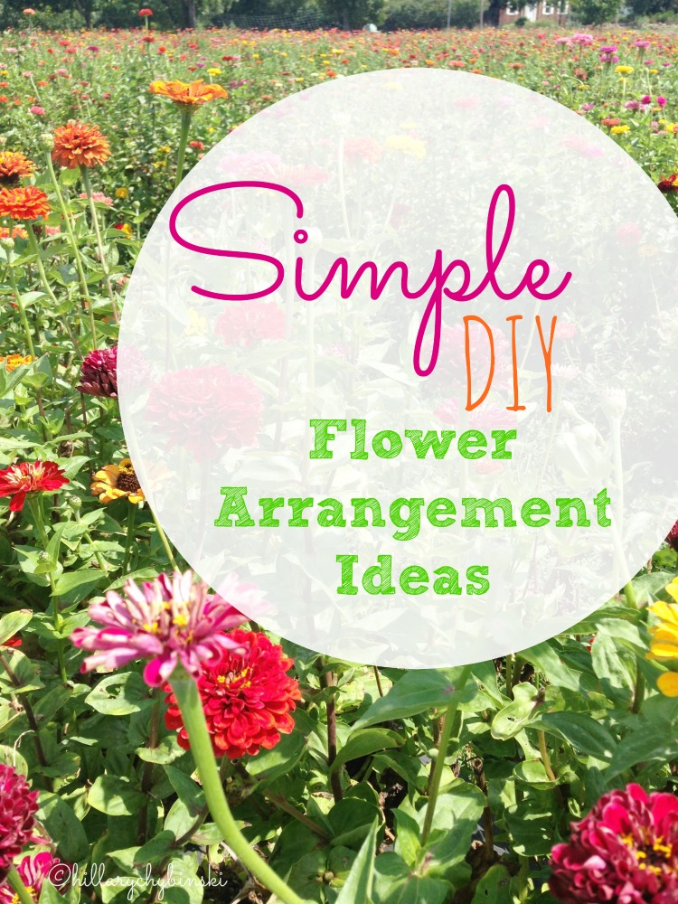 Easy ideas for making simple DIY flower arrangements for your home that are also budget friendly.