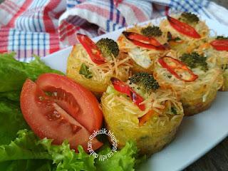 Bihun Sayur Panggang