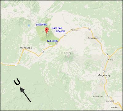 Jalur Pendakian Sindoro Via Sigedang