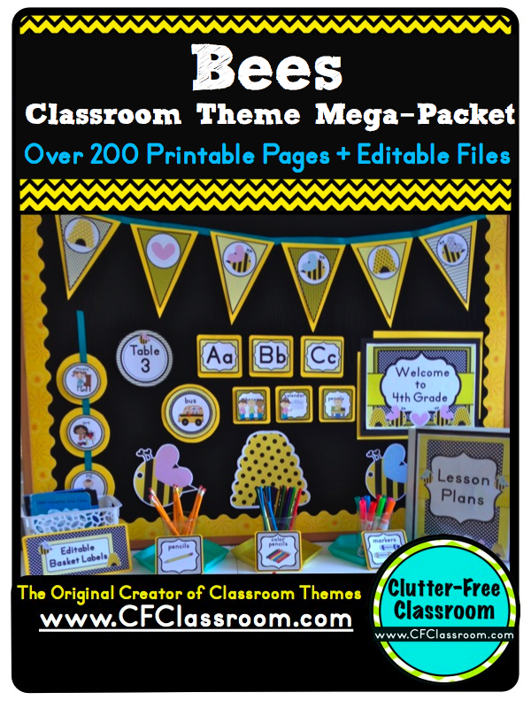 Classroom Decoration Printables ~ Bee themed classroom photos tips ideas pictures and