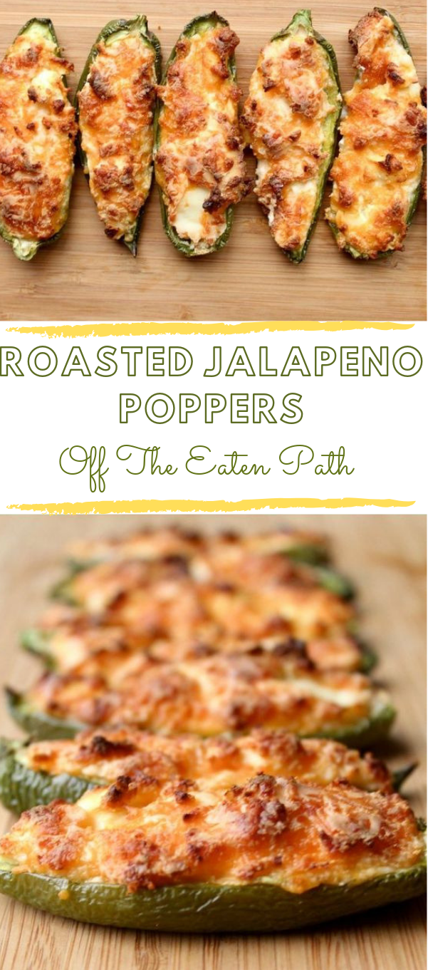 ROASTED JALAPENO POPPERS #jalapeno #healthydiet