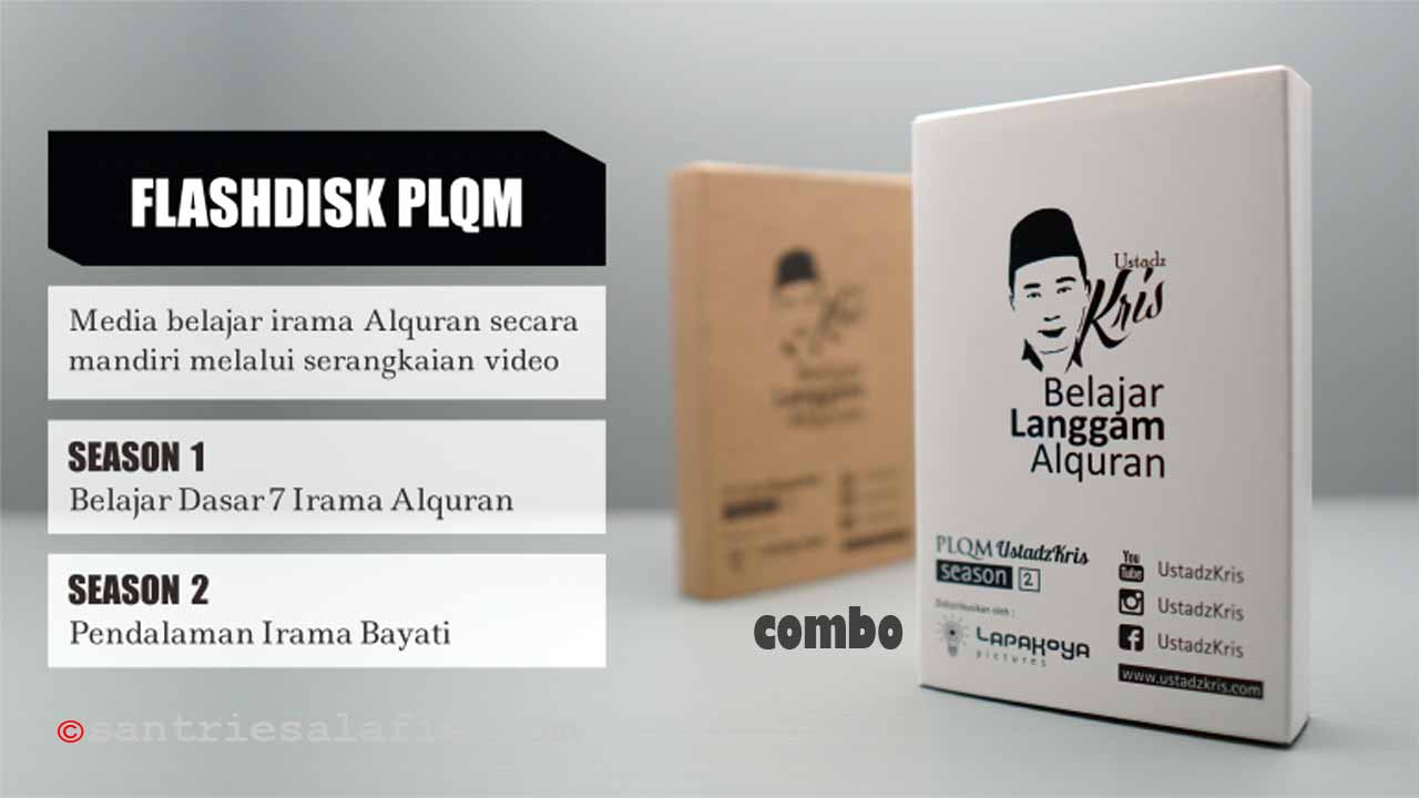 Flashdisk PLQM UstadzKris Pembelajaran Langgam Quran Mingguan by Santrie Salafie