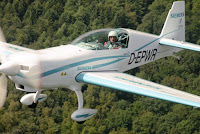 For the first time, a plane in the certification category CS23 flies with Permit-to-Fly purely electric. The plane is powered by a 260 kW Siemens motor that weighs a mere 50 kg—a record-setting power-to-weight ratio.The Extra 330LE, which weighs nearly 1,000 kilograms, serves as a flying test bed for the new propulsion system. As an aerobatic airplane, it's particularly well suited for taking the components to their limits, testing them and enhancing their design. (Credit: greencarcongress.com) Click to enlarge.