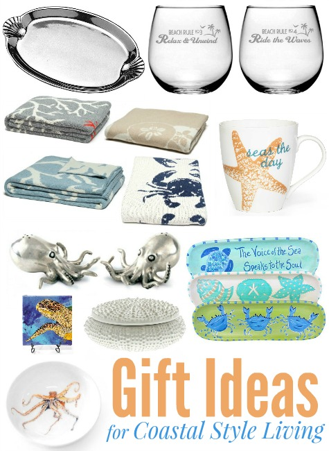 Home Decor Gift Ideas for Coastal Beach Style Living