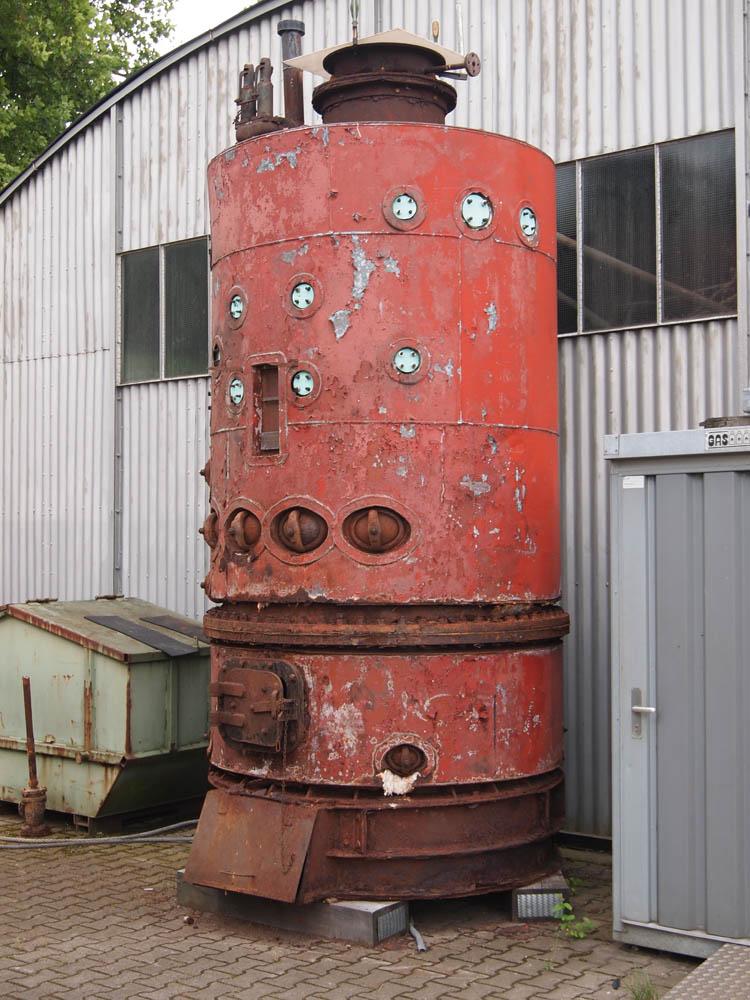 Ungewöhnlich Wie Arbeiten Industrielle Dampfkessel Zeitgenössisch ...