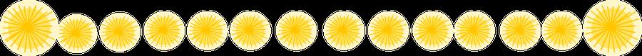 yellow blossom border