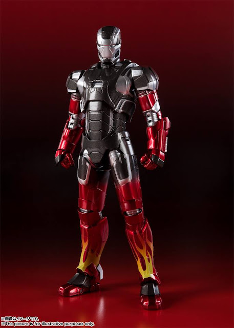 "Figuras: Imágenes y detalles del Iron Man Mark 22 Hot Rod de ""Iron Man 3"" - Tamashii Nations"