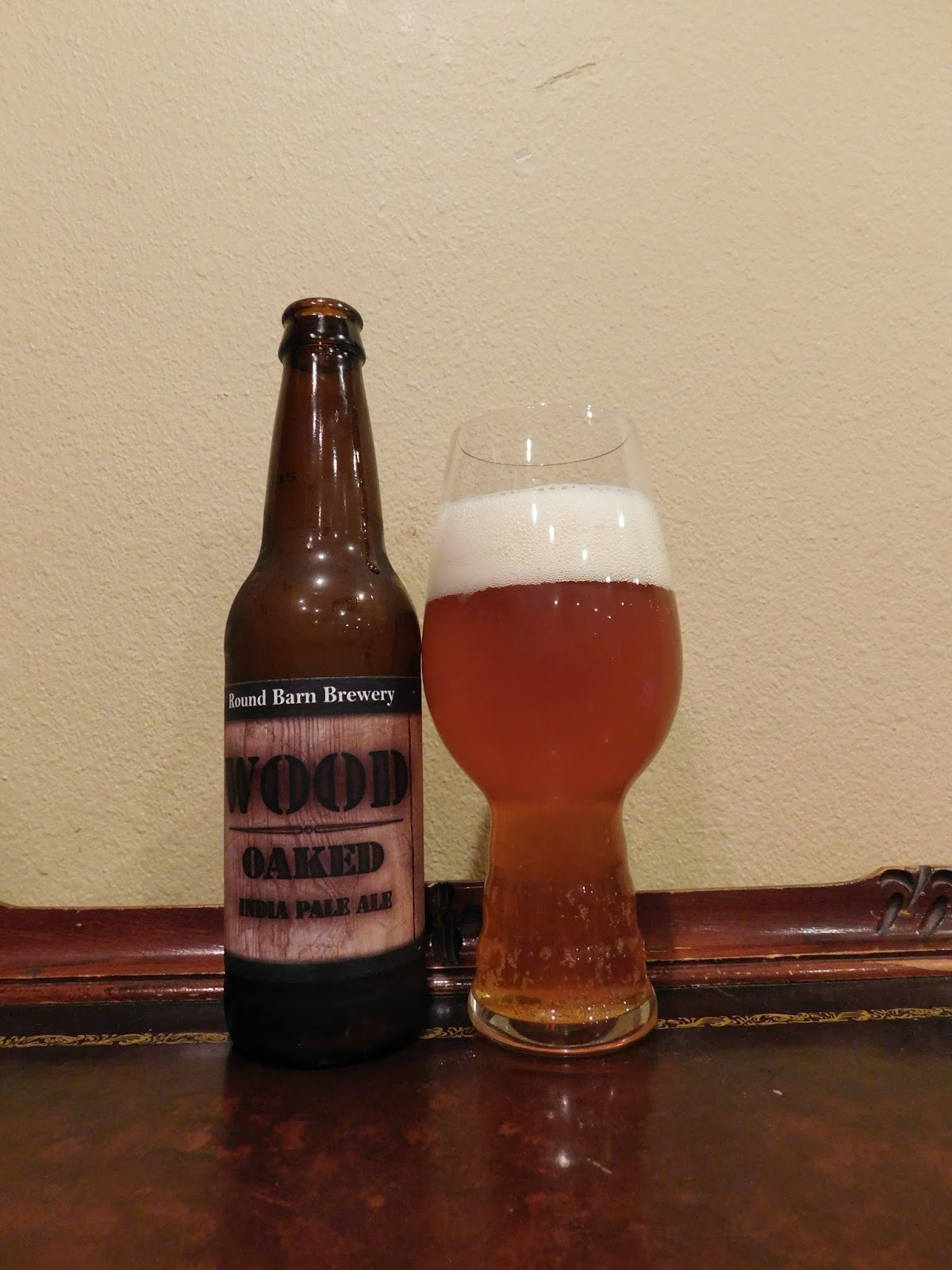 Doing Beer Justice Round Barn Wood Oaked Ipa