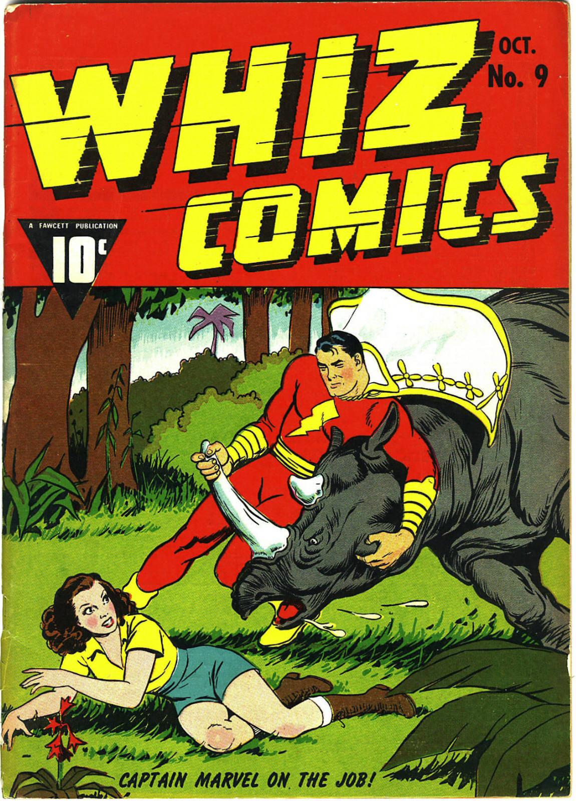 WHIZ Comics 9 Page 1