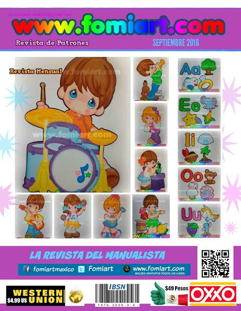 Fomi Moldes Revista de Manualidades