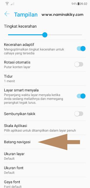 Cara Mengaktifkan Fitur Navigasi Gestur di Zenfone 5 2018