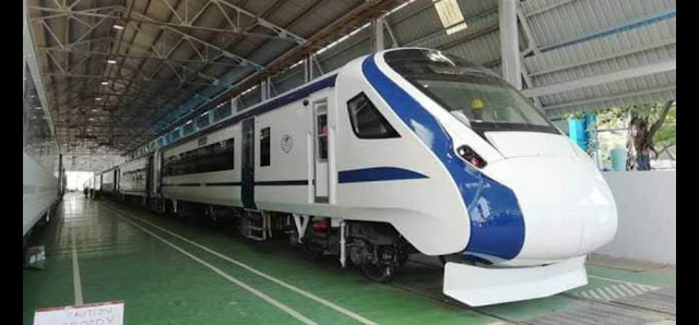 Train18 is India's first engineless train, made in India. Engineless Train18 Runs At 180 Kmph, Becomes India's Fastest Train; Delhi-Varanasi Can Be Its Debut, train 18,train18,train 18 becomes india's fastest train,train 18 trail run,fastest train,india's fastest train train 18,engineless train concept,engineless train in india,india's fastest train,engineless train working,india fastest train,indian railways,india's first enginless train,country's fastest train,engineless train,train 18 trail,train 18 india,train 18 trial,bullet train