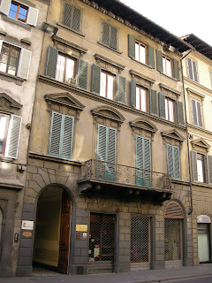 Casa Spadolini at 28 Via Cavour in Florence