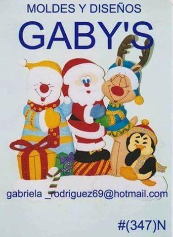 1- Personajes Navideños (Santa, Rebo, Mono de Nieve y pinguino=
