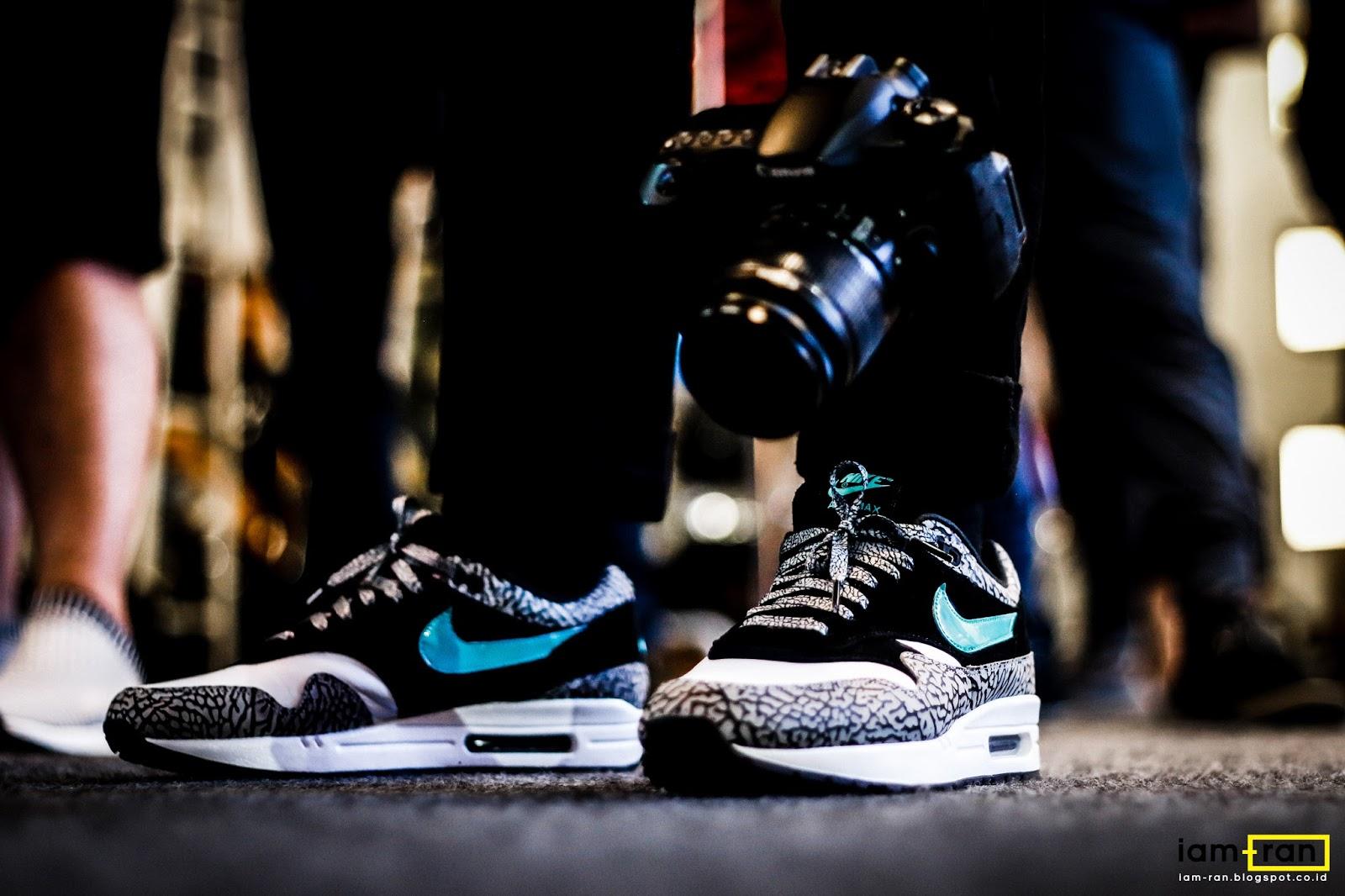 47e42b14a04bc1 Ade on feet. Sneakers   Nike Air Max 1 X Atmos. Photo by   iam.ran06