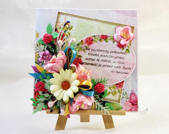 ślub, Magiczna kartka - inspiracje, kartka warstwowa, kartka w pudełku, zaproszenia na ślub