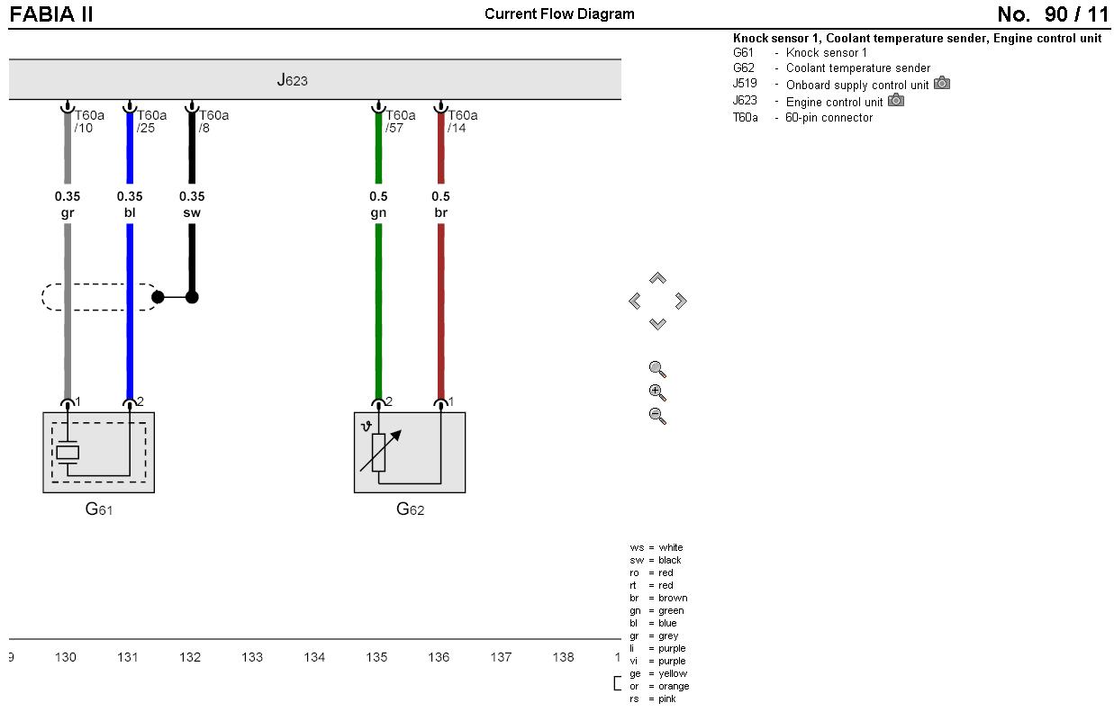 coolant temperature sensor wiring diagram