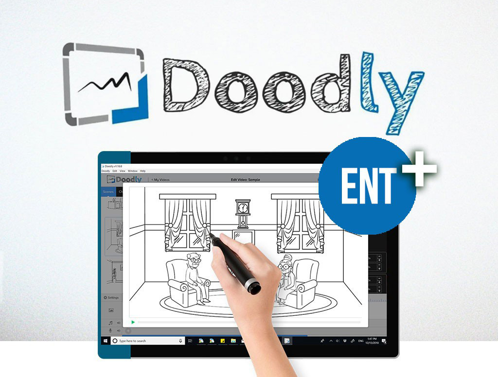Create professional doodle videos