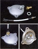 アドレスV125G sptakegawa油温センサー取り付けパーツ