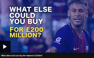 What else could you buy for 200 million pounds?