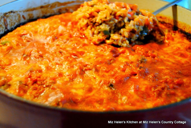 Spanish Rice Casserole at Miz Helen's Country Cottage