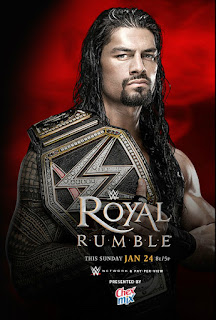 WWE Royal Rumble 2016 ppv Roman Reigns poster