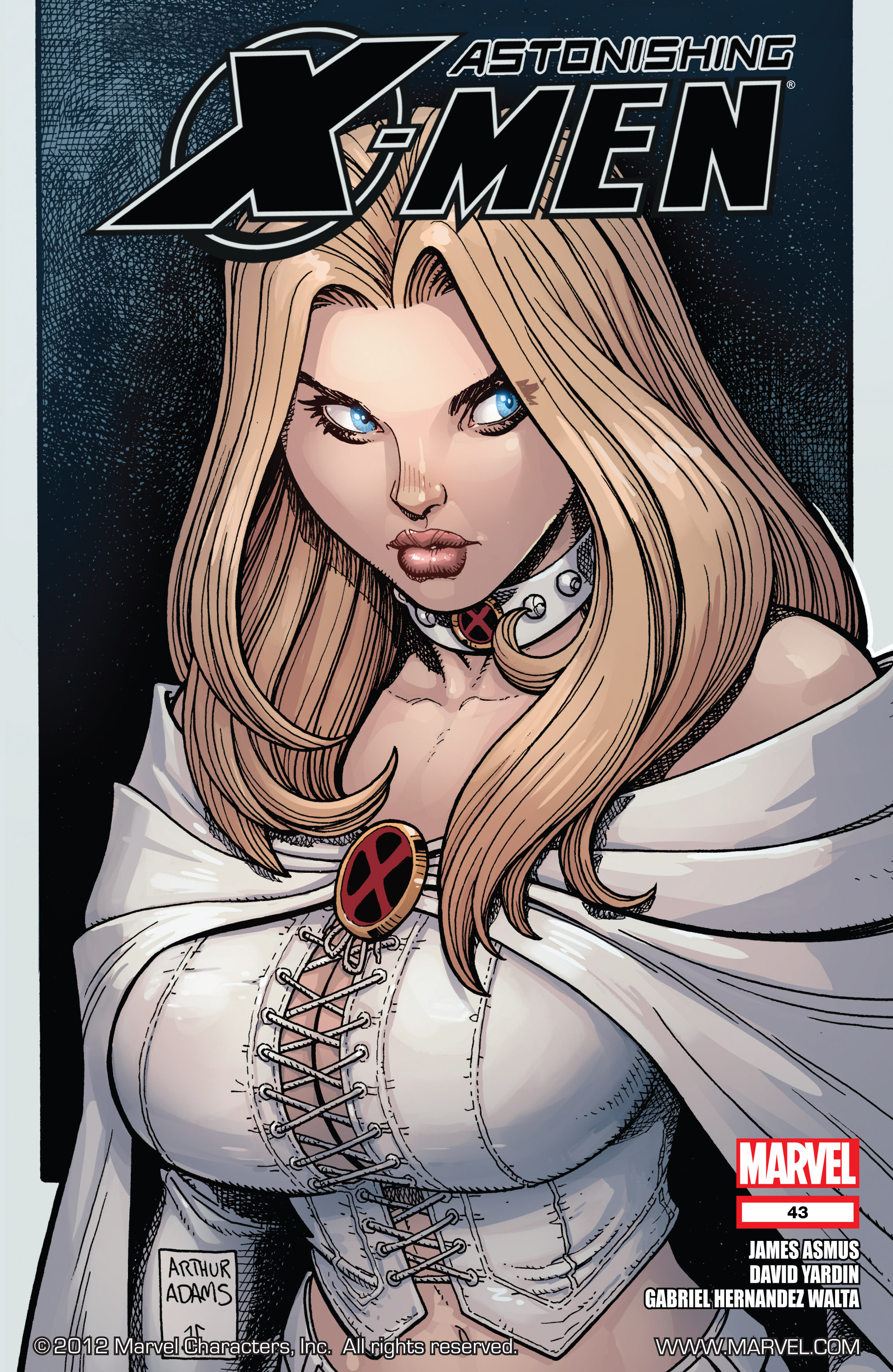 Read online Astonishing X-Men (2004) comic -  Issue #43 - 1