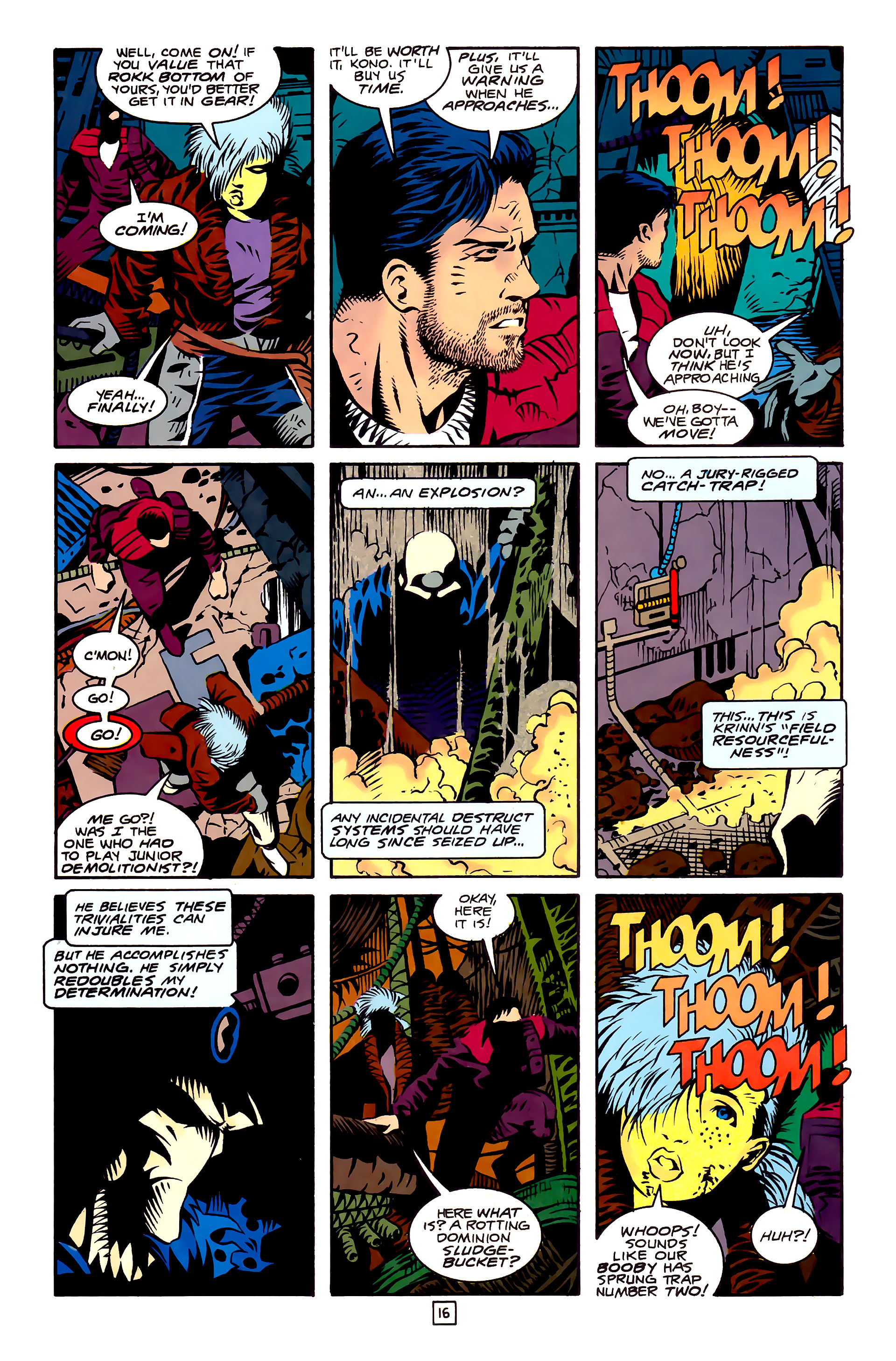 Legion of Super-Heroes (1989) 27 Page 16