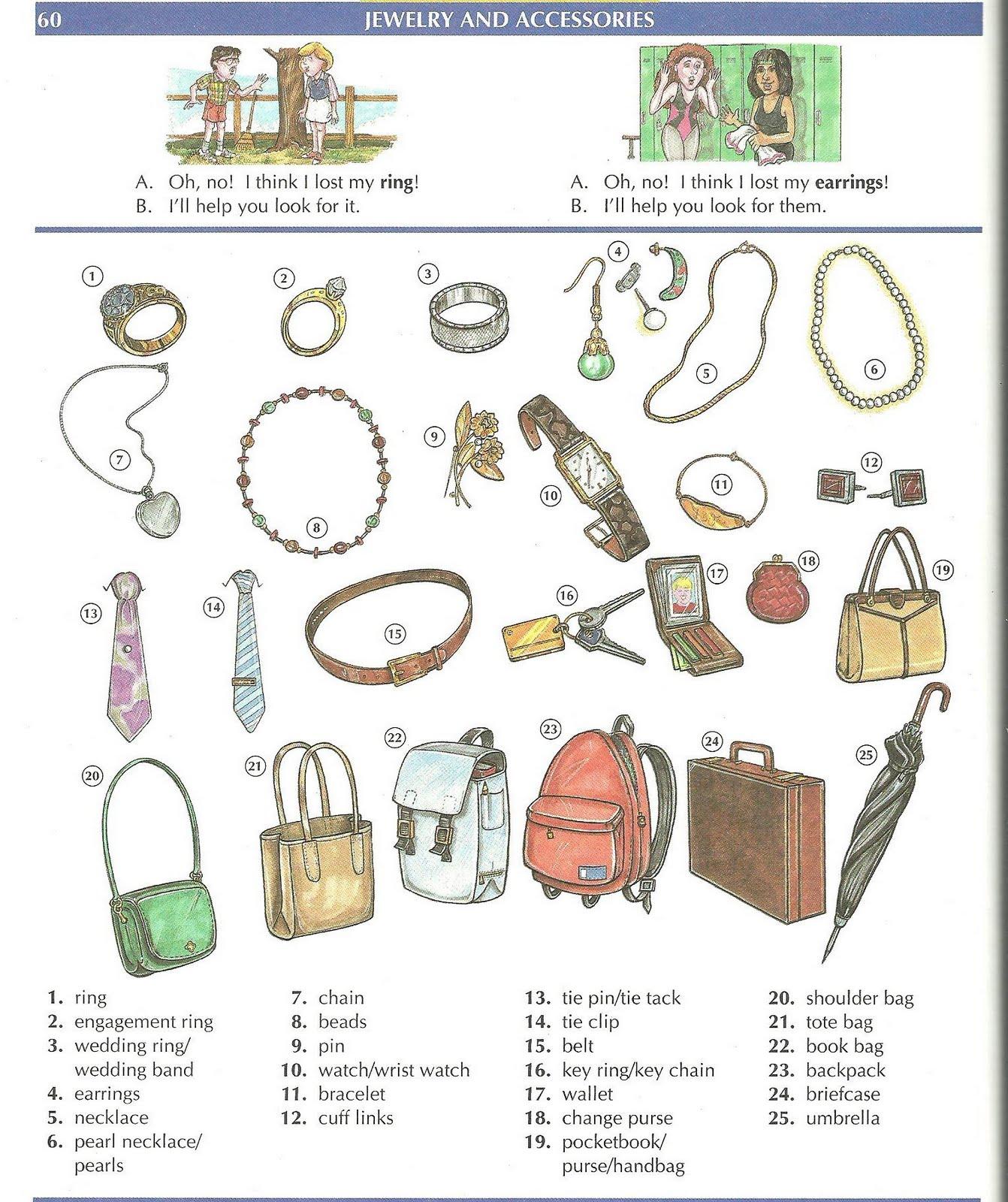 Mauxi Efs Clothes Vocabulary