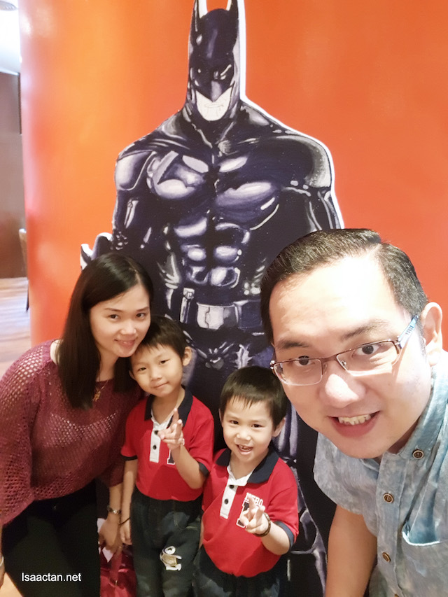Snap a picture with the many Superhero Standees at TEMPTationS