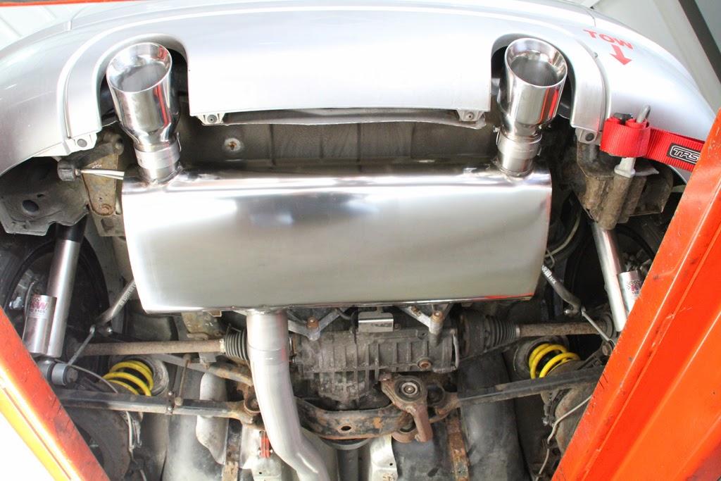 Audi Tt Race Car Project Tt Milltek 3 Race Exhaust System
