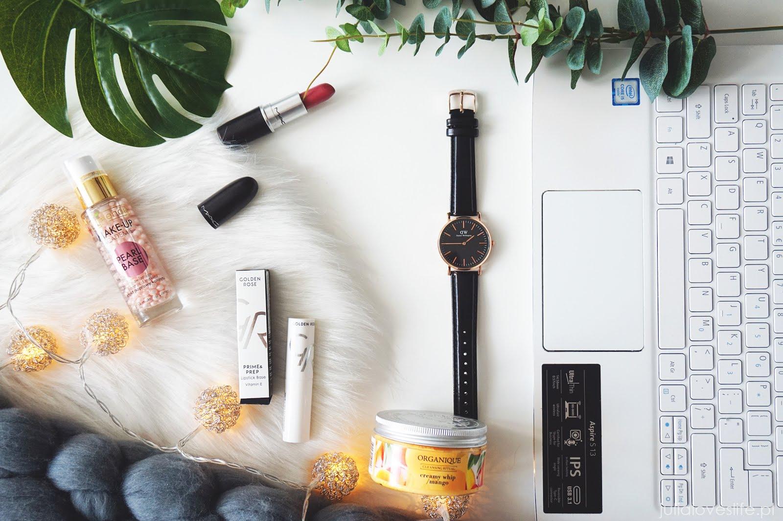 Ulubieńcy czerwca | Organique, MAC Cosmetics, Golden Rose, Bielenda | + ulubieńcy niekosmetyczni