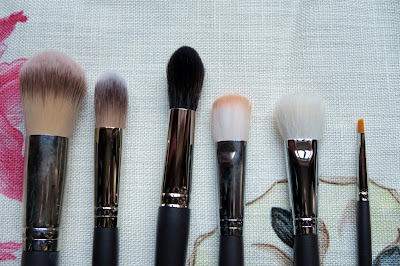 Louise Young Face Brushes Close-up
