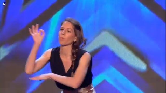 Concursante sorda en lengua de signos en el concurso Got Talent España 2017