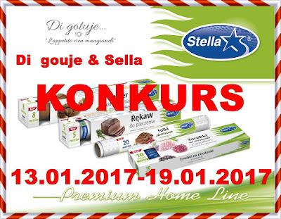 KONKURS - Di gotuje & Stella - do wygrania 3 zestawy produktów!