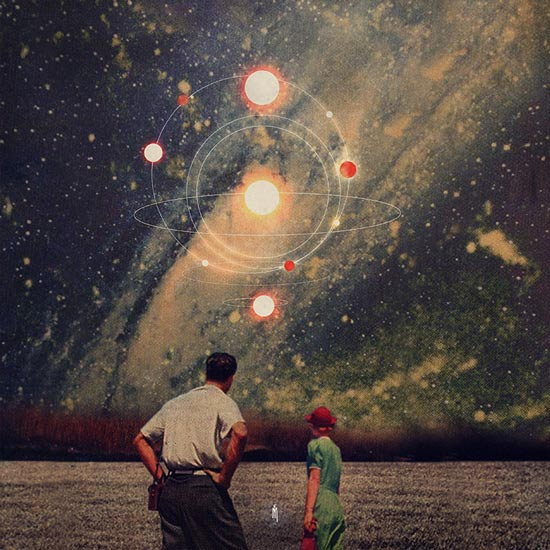 """Light Explosions in Our Sky"" by Frank Moth 