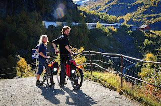 Rallarvegen cycling route