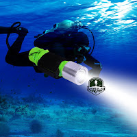 Lanterna Scafandru Scuba Diving Scufundari Waterproof