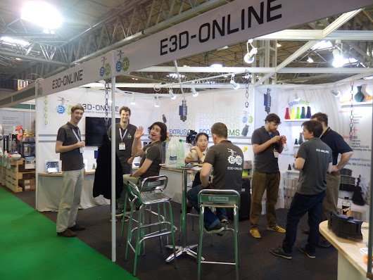 Autumn 2016 3D Printing Adventures Update - TCT Show 2016 highlights, projects and new machines & materials