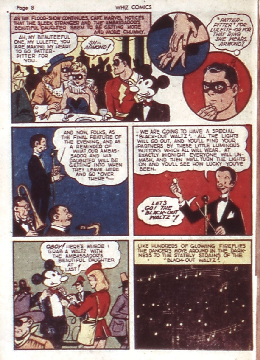 WHIZ Comics issue 23 - Page 10