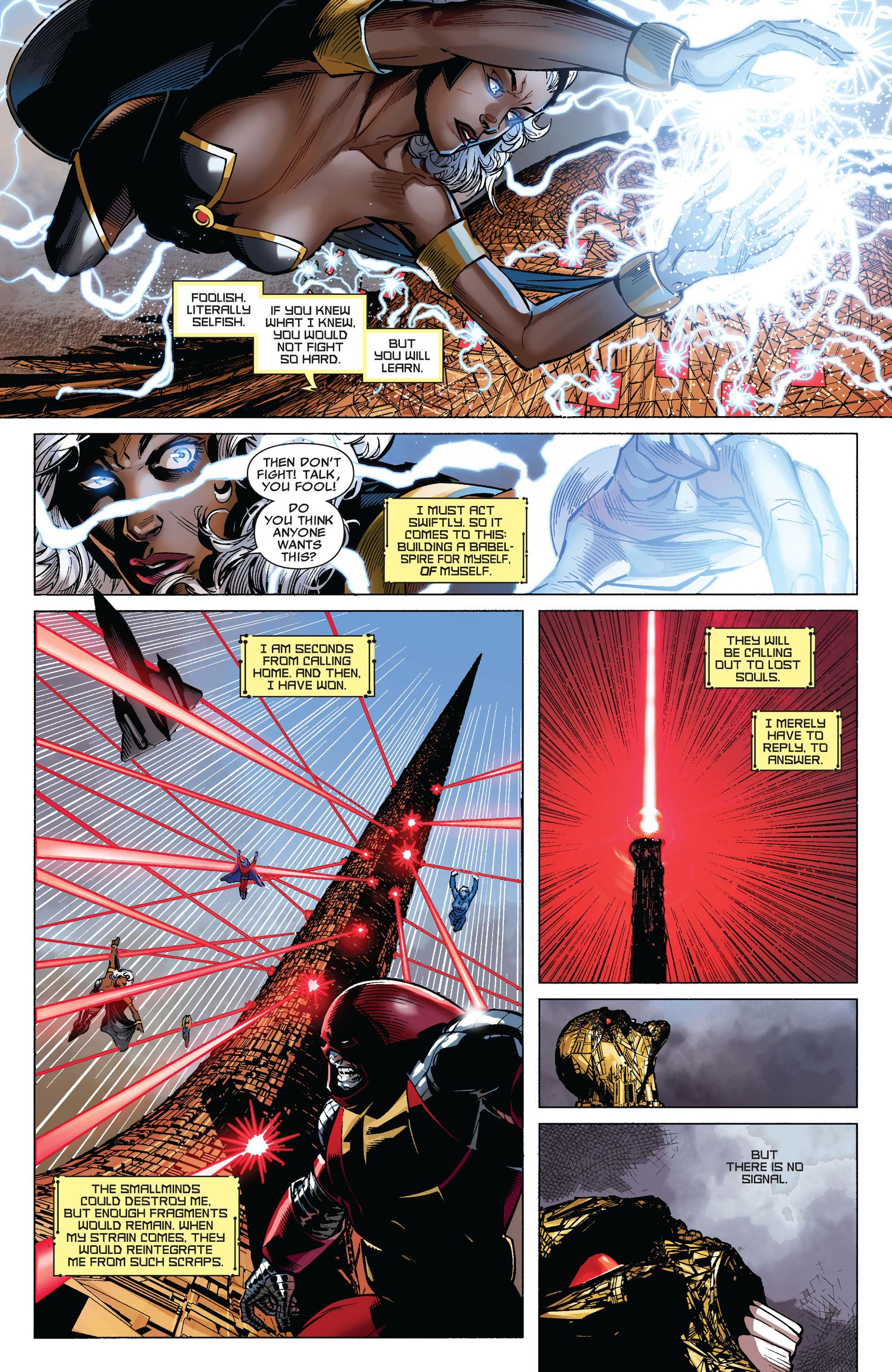 Read online Uncanny X-Men (2012) comic -  Issue #4 - 19