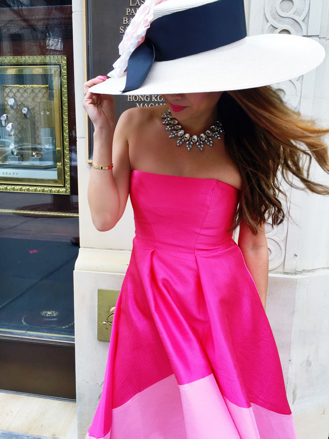 What To Wear To The Kentucky Derby Pink Derby Style Red