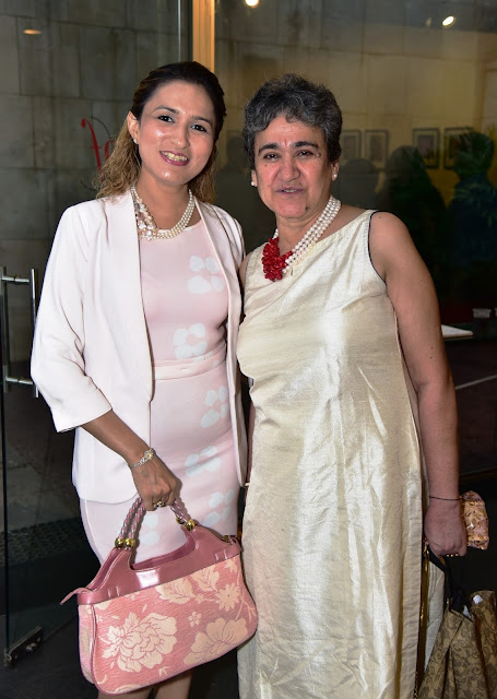 Make up Expert Aashmeen Munjal with Ambassador of Peace Ratan Kaul