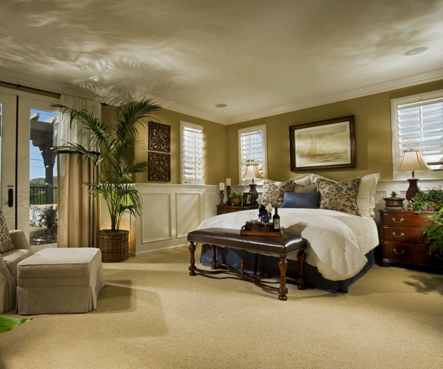 New Home Designs Latest.: Modern Homes Bedrooms Designs