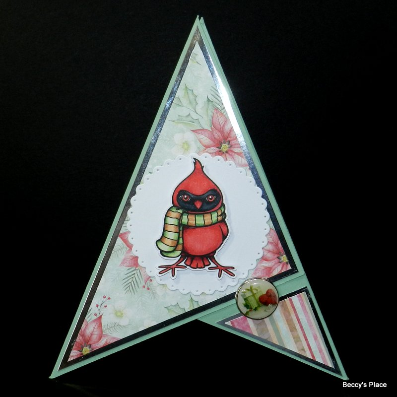 Beccy S Place Tutorial Pyramid Cards