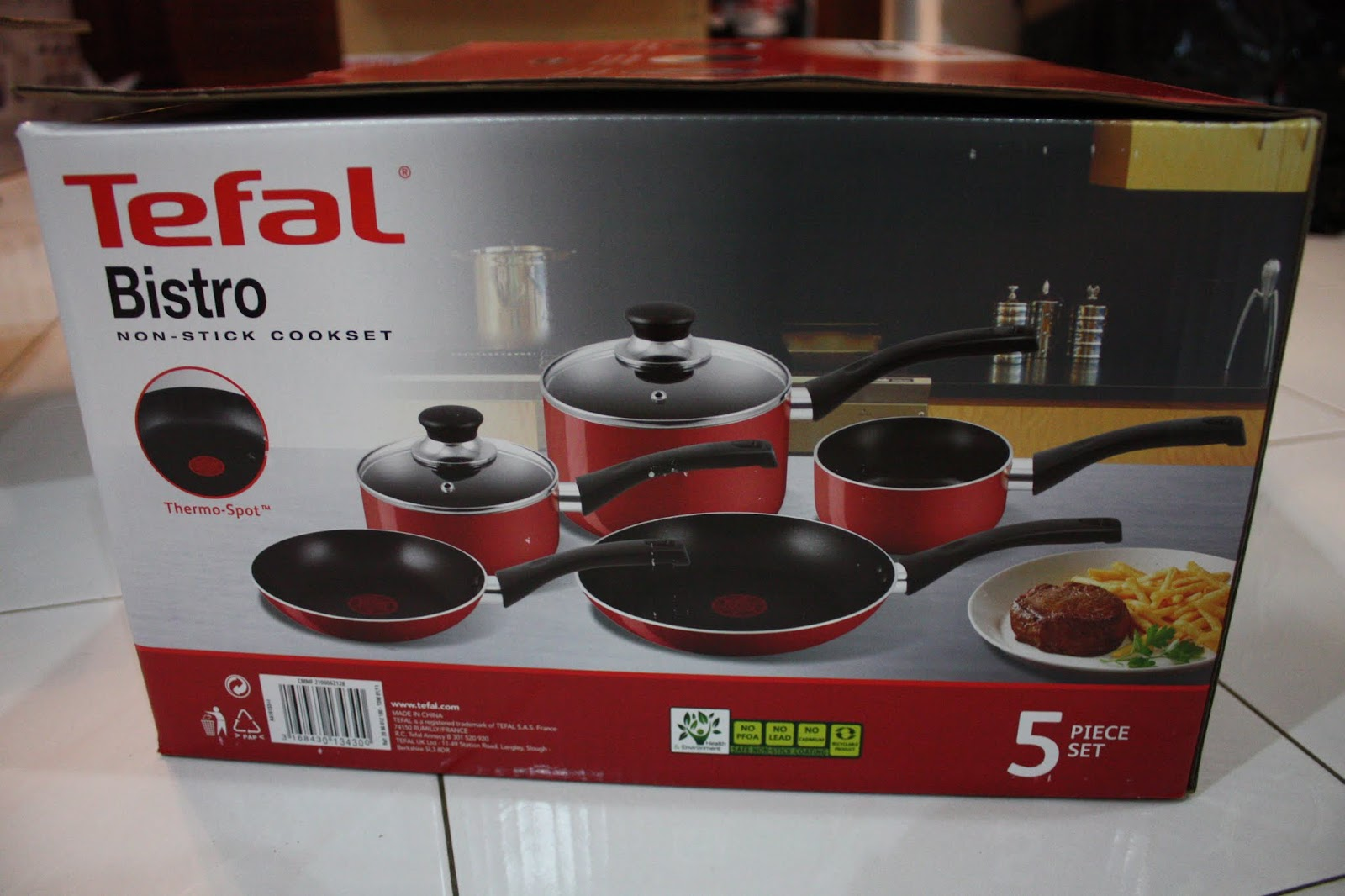 Tefal Pan Set Lust For Bagz Tefal Bistro 5 Piece Set From Uk