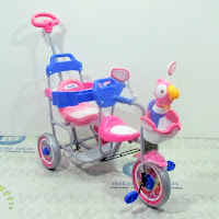 family f904a rio bintang tricycle boncengan