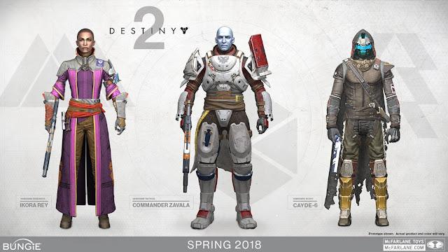 Mc Farlane annonce de nouvelles figurines Destiny