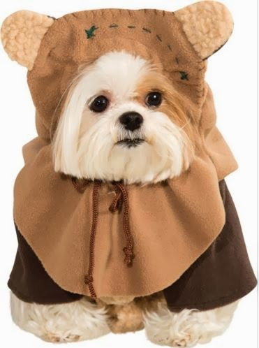 Dress your dog in this Ewok costume from Star Wars. & Dog Boutique Designer Dog Clothing and Accessories for your Dog ...